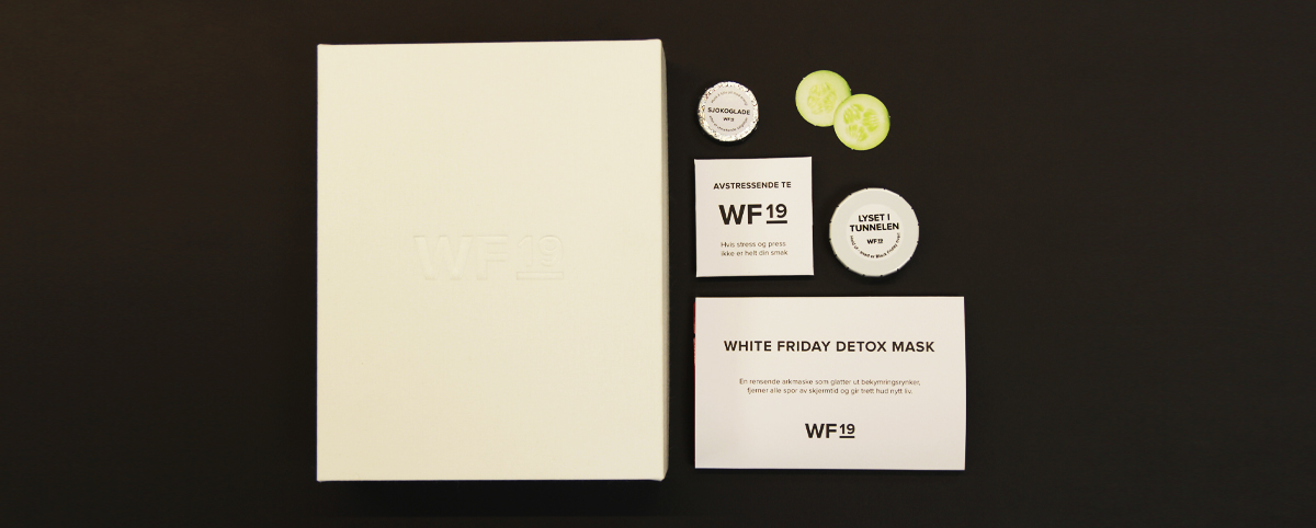 White Friday Box